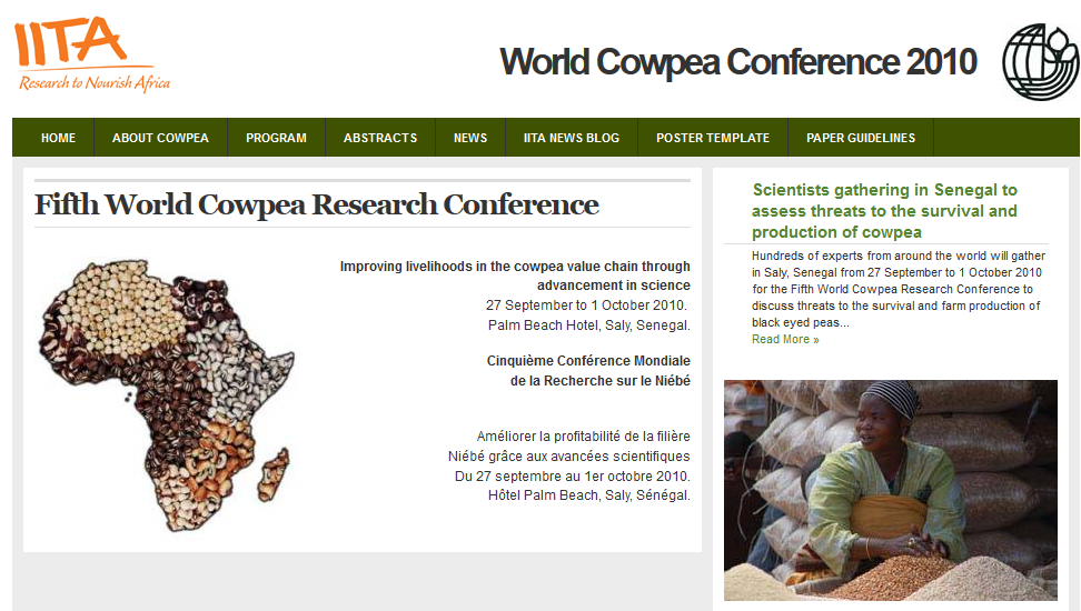 5th World Cowpea Research Conference