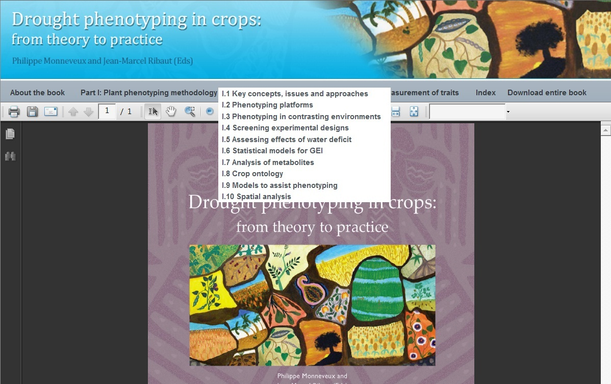 Drought Phenotyping Online